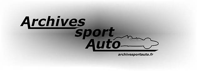 Archives Sport Automobile